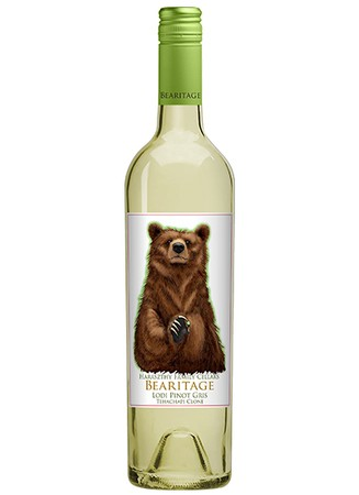 Pinot Gris - Bearitage  sc 1 st  Haraszthy Family Cellars & Haraszthy Family Cellars - Products - Pinot Gris - Bearitage